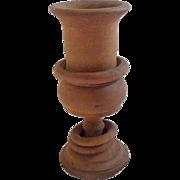 SALE Antique PA. Primitive Folk Art Puzzle Cup Whimsy