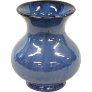 Fulper Blue Flambe vase