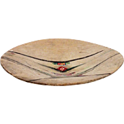 Indian Native American wooden charger