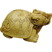 Chinese carved stone turtle