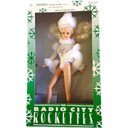 "Radio City Rockettes Snowball 12"" Limited Edition Discontinued Never Removed From Box Dol"