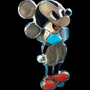 Veronica Poblano Nastacio Zuni Mickey Mouse Ring By Famous Artists Veronica Poblano Nastacio &