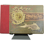 1890 Illustrated Montreal Souvenir Book, Windsor Hotel - The Metropolis of Canada