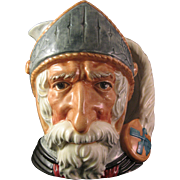 "Royal Doulton Large Toby Jug Don Quixote 7 3/4""  Marked 1956 # D6455"