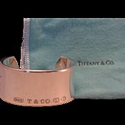 Tiffany & Co 1837 Sterling Silver 925 Bold Wide Cuff Bracelet