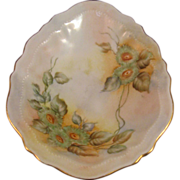 O&EG Royal Austria Hand Painted Egg Shape Multi color Dish 1899 -1913 Excellent ...