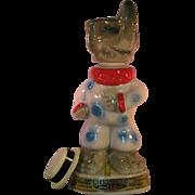 Jim Beam Republican GOP Elephant Clown Liquor Decanter - Empty 1968 Kentucky Straight tags
