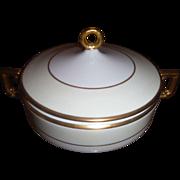 Vintage HEINRICH & CO. Queen Pattern Covered vegetable  Bowl