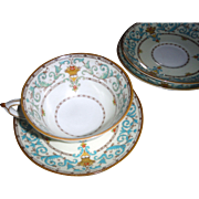 Paragon ADAM 1 cup and 4 saucers 1930's