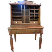 Eastlake Victorian Country Innkeeper's Desk Circa 1871-1890