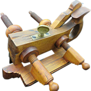 SOLD D. R. Barton Rosewood Plow Plane, Circa 1849-1874 - Red Tag Sale Item
