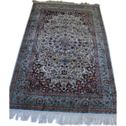 REDUCED Super Fine %100 Oriental Silk Persian Rug Ghom 5.1X8.4 Rug Kpsi 650
