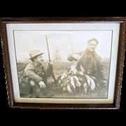 Theodore Roosevelt – ca.1905 duck hunter.