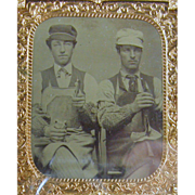 -Occupational- 6th plate Tintype photograph ca.1870's