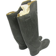 1880's Salesman's sample Candee rubber boots