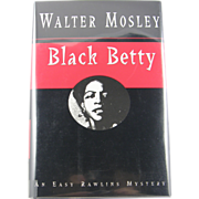 "=Signed 1st Edition= Walter Mosley: ""Black Beauty"""