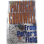 "=Signed 1st Edition= Patricia Cornwell: ""From Potter's Field"""