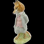 1954 Beatrix Potter, Foxy Whiskered Gentleman, Beswick figurine, England