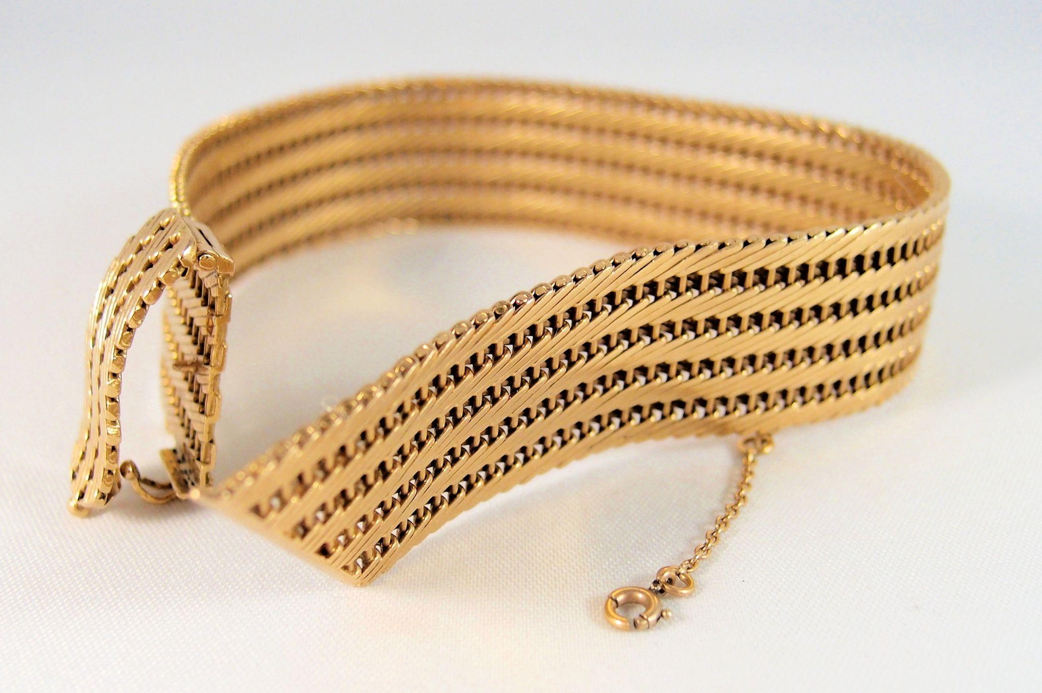 Europenan amp American Fashion Gold Color Cuff Bracelets
