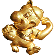 SALE Solid 24k Yellow Gold Chinese Zodiac MONKEY Pendants Charms for Necklace or Bracelet Adul