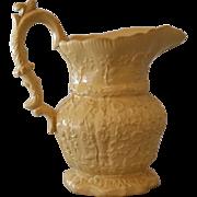 Antique Yellow Ware Salt Glaze Jug