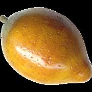 Mid Century Wooden Mango Or Lemon