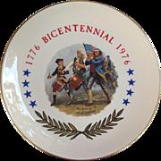 1776-1976 Spirit of '76 Bicentennial Plate