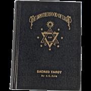 SOLD Rare Book: The Brotherhood of Light: Sacred Tarot, Doctrine of Kabalism, Dated 1969