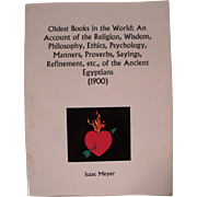 Book: The Oldest books in the world by Isaac Meyer
