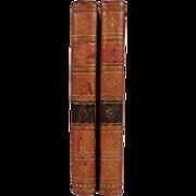 "Antique Set of Books: ""Clavis Calendaria or a Compendius Analysis of the Calendar"" by John"
