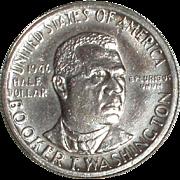 SALE 1946 Booker T Washington Silver Commemorative Half Dollar - Nice 69 year old Coin - Free