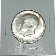 1964-D Kennedy Silver Half Dollar - 90% Silver - Very Nice Coin - Denver Mint ~ Free ...