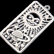 SALE Unique Boma Sterling Silver Pendant