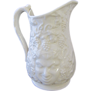 SALE Belleek Bacchus Porcelain Milk Pitcher- Ireland