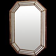 "REDUCED Vintage Mid-Century Modern Mirror 40""tall"