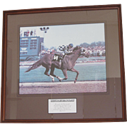 Secretariat Winning the Kentucky Derby-1973