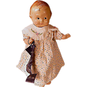 "SOLD Vintage 14"" composition Kewty doll"