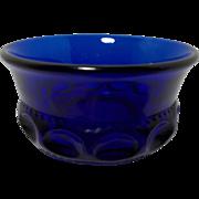 Indiana Kings Crown Cobalt Bowl