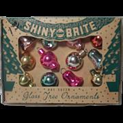 SOLD Vintage Shiny Brite Christmas Ornaments in Original box
