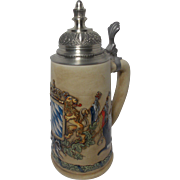 Beautiful Vintage Bavarian Crest Stein