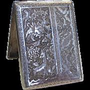 Egyptian 900 Silver Cigarette Case