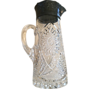 """SALE Heavy EAPG Pitcher 11"""" Tall"""