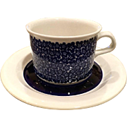 Arabia of Finland Faenza Blue Cup 2 Available