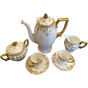 SALE Royal Crown Derby Service for 8 Coffee Set