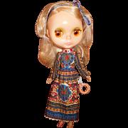 "11"" Vintage (1972) Blythe Doll By Kennar With Original Dress"