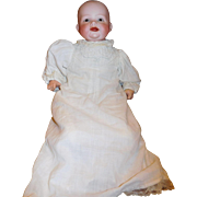 """16"""" Antique Smiling Bonnie Babe By Georgene Averill Cloth Body, Composition Limbs"""