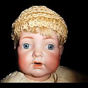 "20"" Antique Kammer & Reinhardt K * R 121 German Baby Doll, Great Body, Great Clothing"