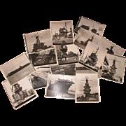 """Vintage B&W 16  8""""x10""""  WW 2  U.S.S. naval battleships.  Price is ..."""