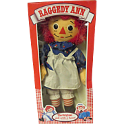 Collectable Raggedy Ann Original doll with a heart. New In Box