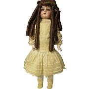 Gorgeous Hamburger D P German Ruth Doll Bisque, leather,